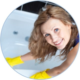 Domestic cleaning with Diamond Home Support