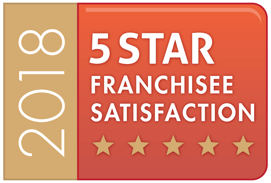 5 Star Satisfaction Award Cleaning Franchise