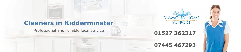 Cleaners in Kidderminster