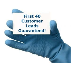 40 customer leads included