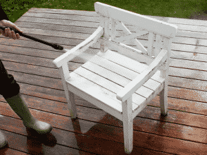 How To Clean Garden Furniture