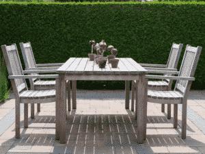 How To Clean Wooden Garden Furniture